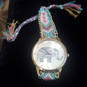 Accessories - Elephant colorful watch needs battery